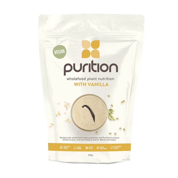 Purition Wholefood Nutrition Vanilla 250g