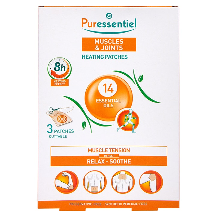 Puressentiel Muscle and Joints Heating 3 Patches