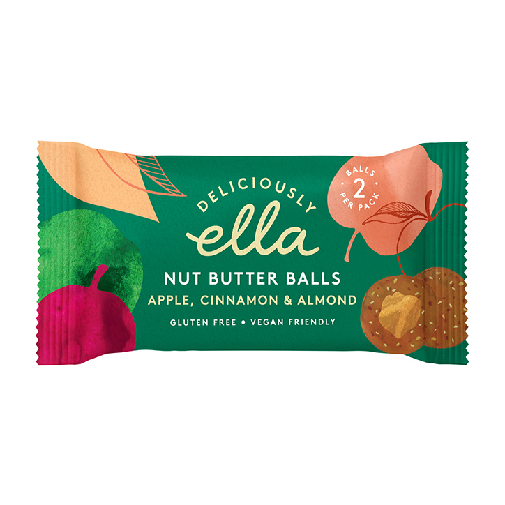 Deliciously Ella Apple Cinnamon & Almond Nut Butter Balls 36g