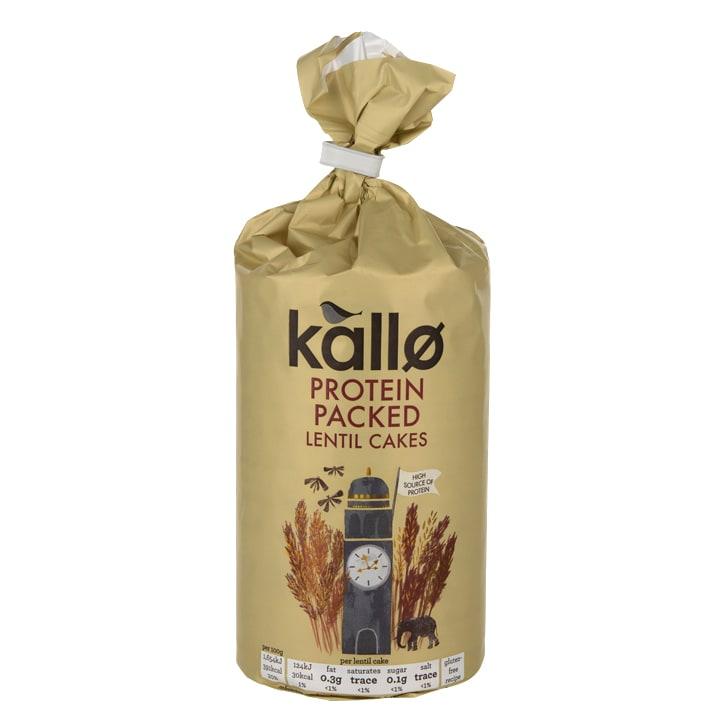 Kallo Protein Lentil Cakes 100g