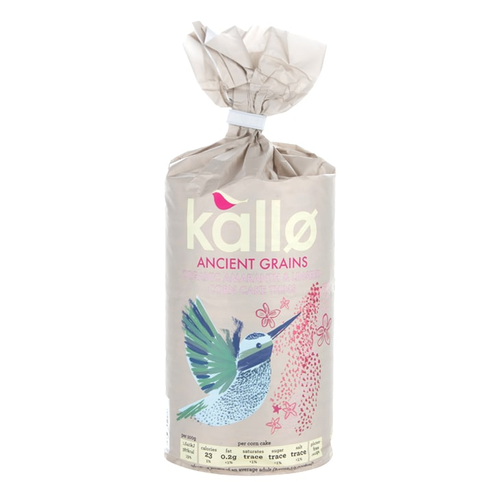 Kallo Ancient Grains Corn Cakes 150g