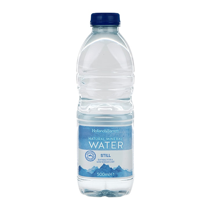 Holland & Barrett Natural Mineral Water 500ml