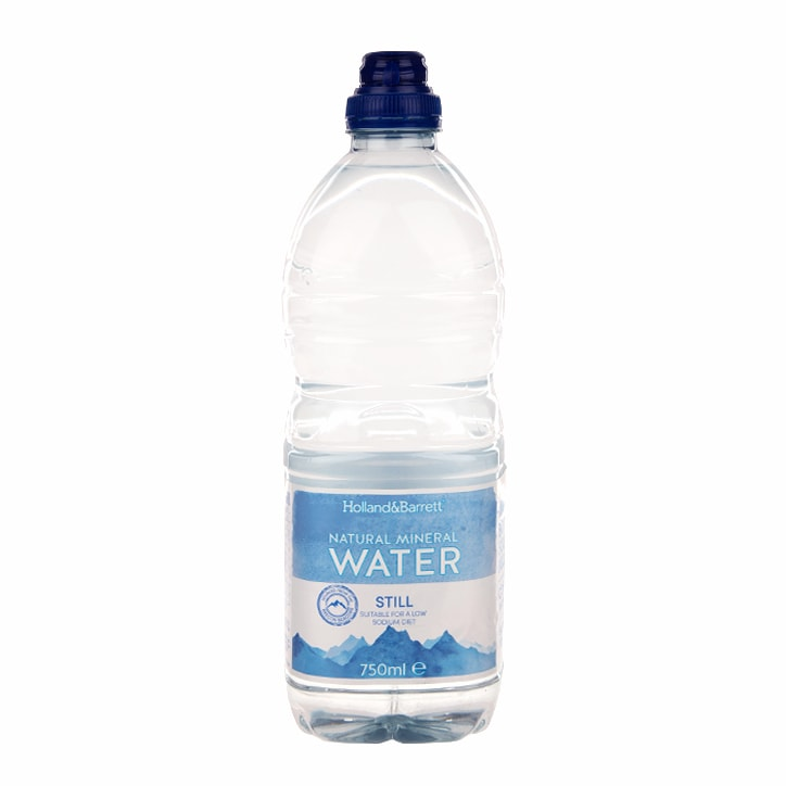 Holland & Barrett Natural Mineral Water 750ml
