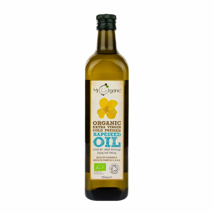 Mr Organic Organic Cold Pressed Rapeseed Oil 750ml