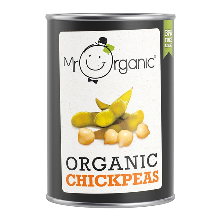Mr Organic Organic Chickpeas 400g