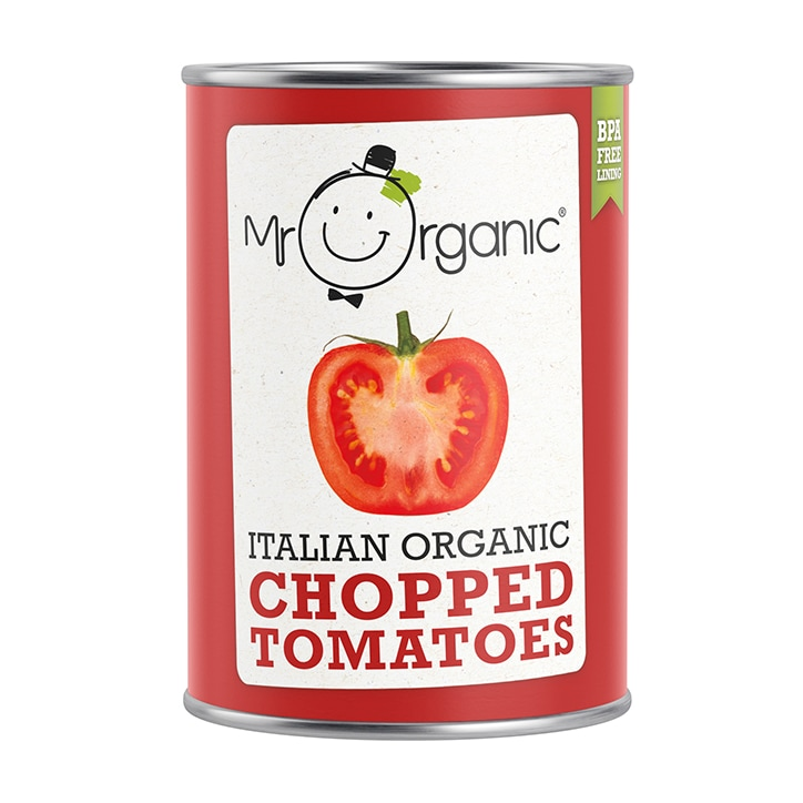 Mr Organic Italian Organic Chopped Tomatoes