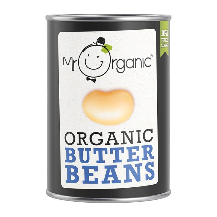 Mr Organic Organic Butter Beans 400g