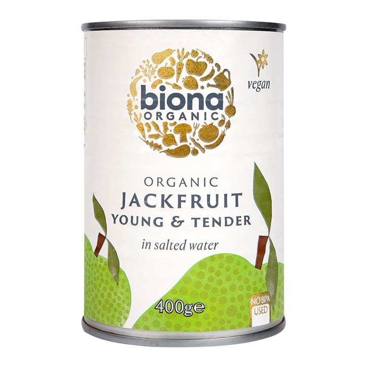 Biona Jackfruit Young Tender Pieces 400g