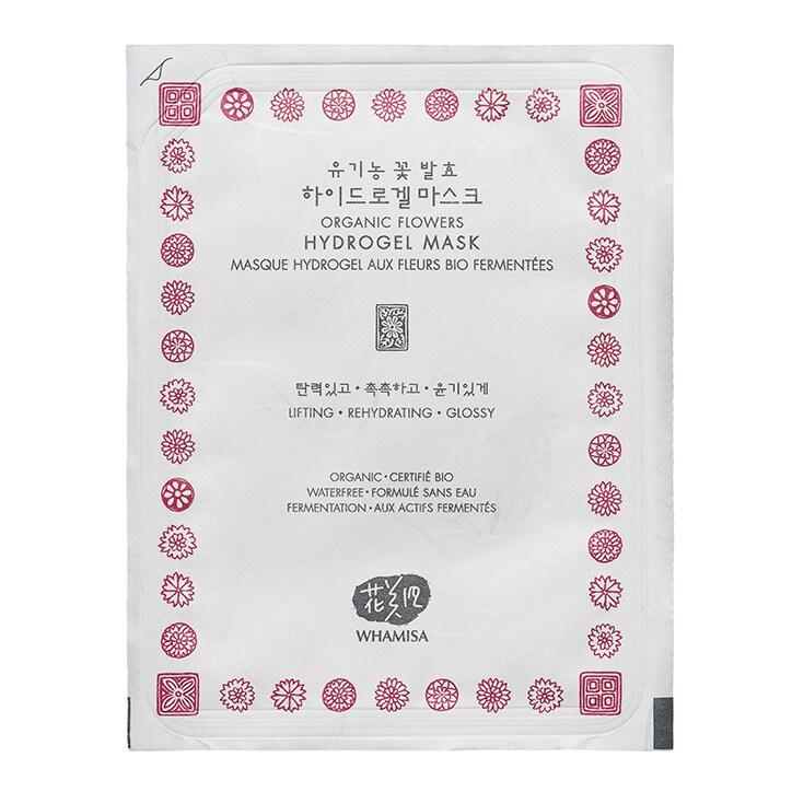 Whamisa Organic Flowers Hydrogel Mask 33g