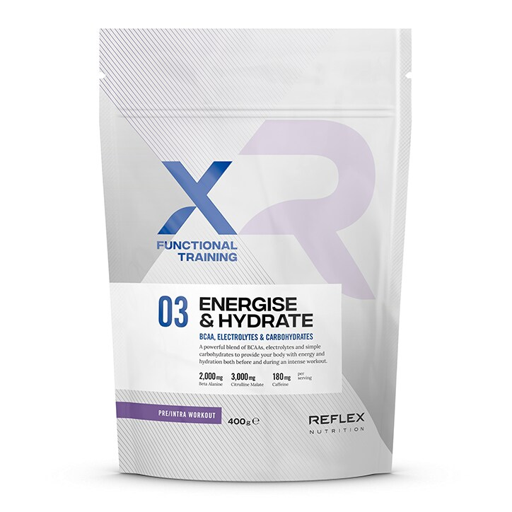 Reflex XFT Energise & Hydrate Mango & Raspberry 400g