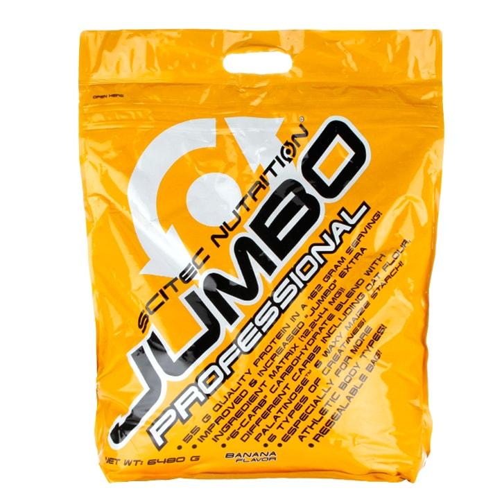 Scitec Jumbo Professional Mass Gainer Banana 6480g