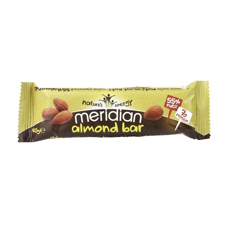 Meridian Almond Nut Bar 40g