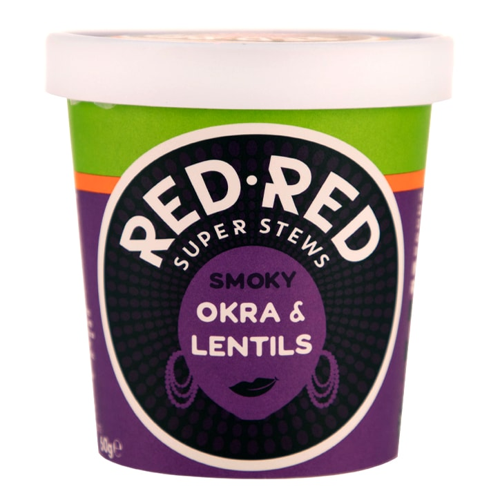 Red Red Smoky Okra & Lentils 60g