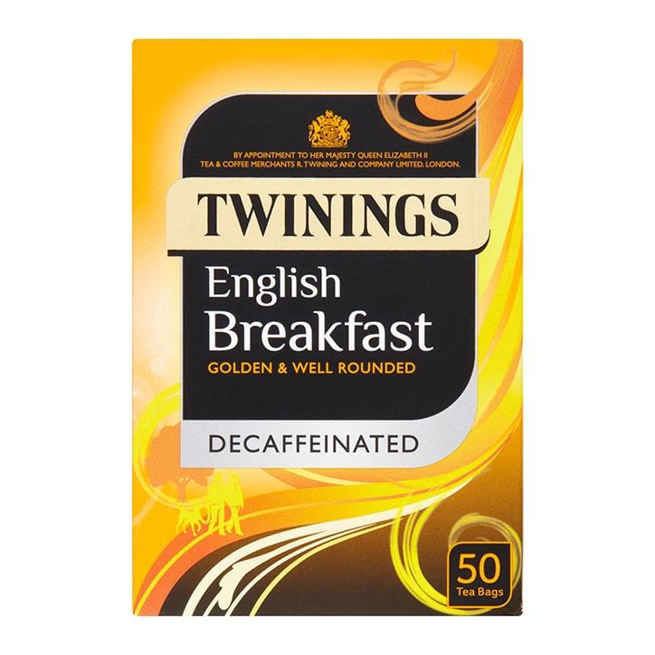 Twinings English Breakfast Decaffeinated Tea 50 Teabags