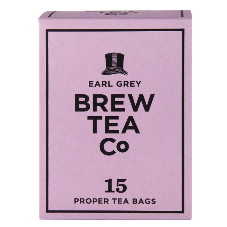 Brew Tea Co. Earl Grey Tea 15 Teabags