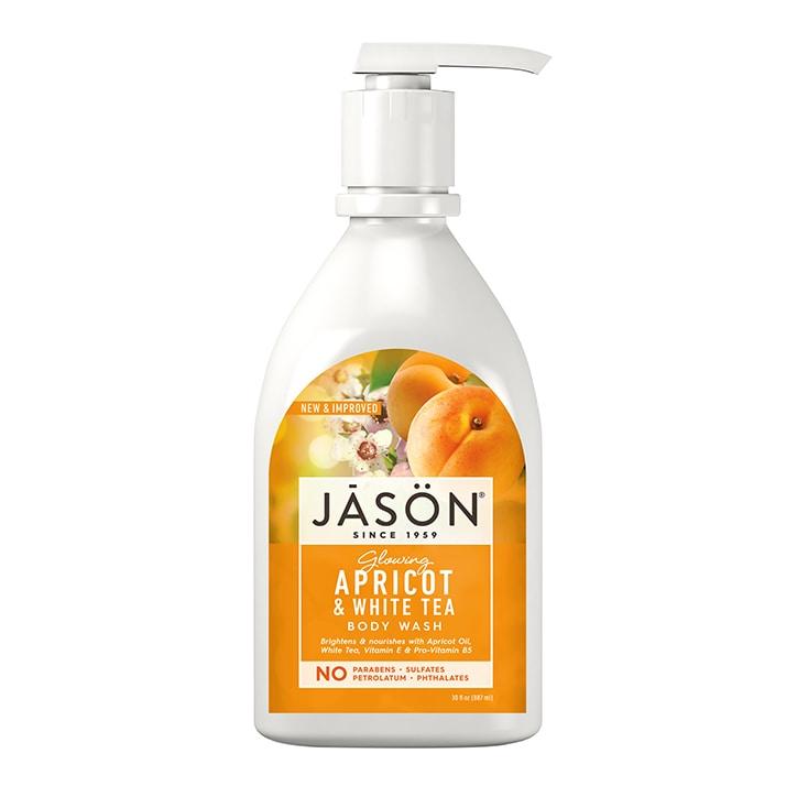 Jason Glowing Apricot and White Tea Body Wash 887ml