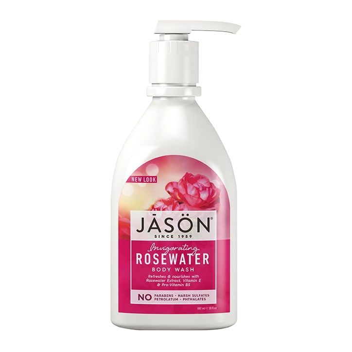 Jason Rosewater Body Wash- Invigorating