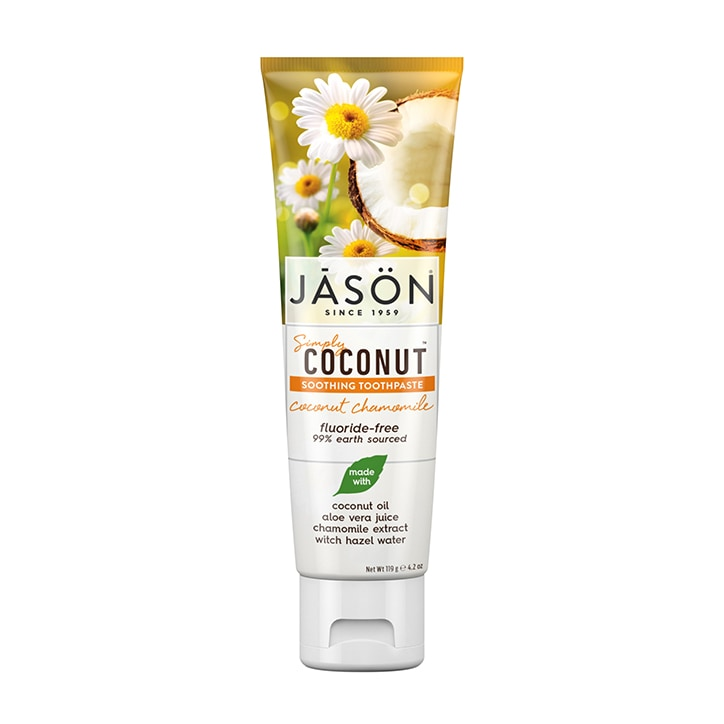 Jason Simply Coconut Chamomile Toothpaste 119g