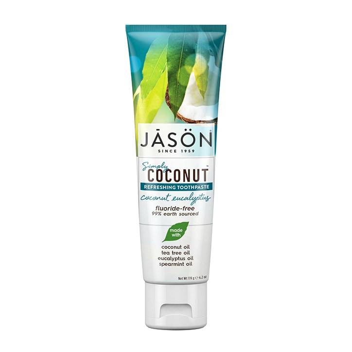 Jason Simply Coconut Eucalyptus Toothpaste 119g