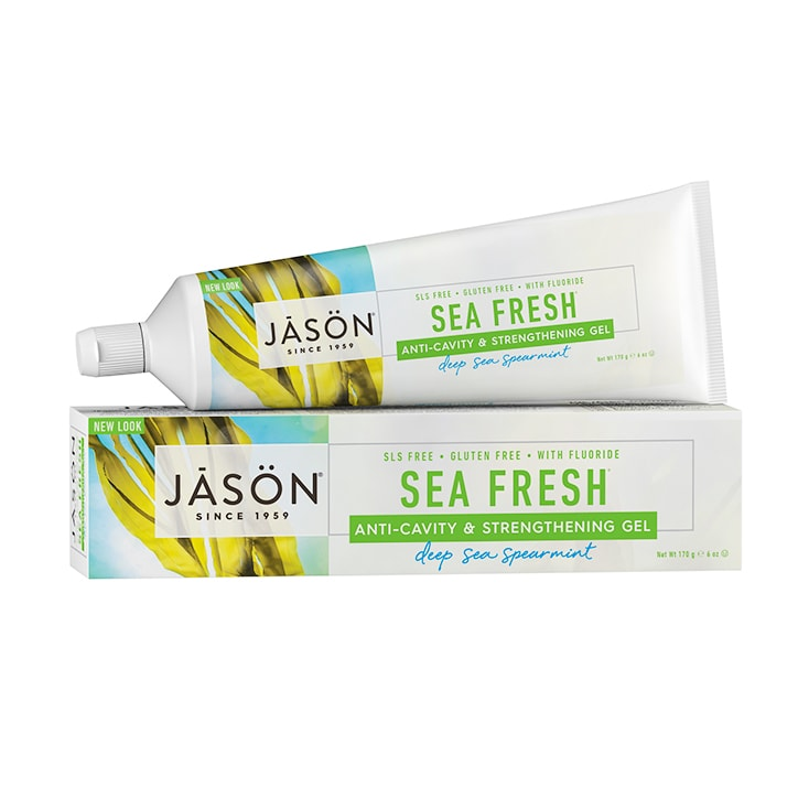 Jason Sea Fresh Anti-Cavity & Strengthening Gel - Deep Sea Spearmint