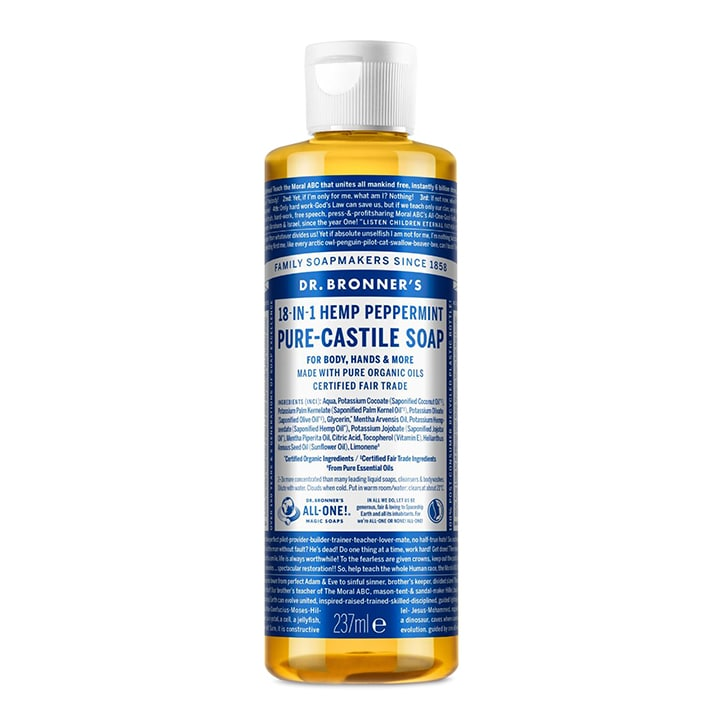 Dr Bronner's Peppermint Pure-Castile Liquid Soap