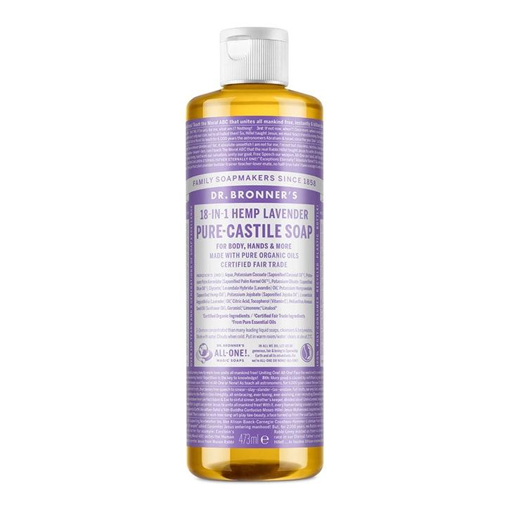 Dr Bronner's Lavender Pure-Castile Liquid Soap 473ml