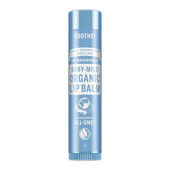 Dr Bronner's - Naked Mild Organic Lip Balm 4g