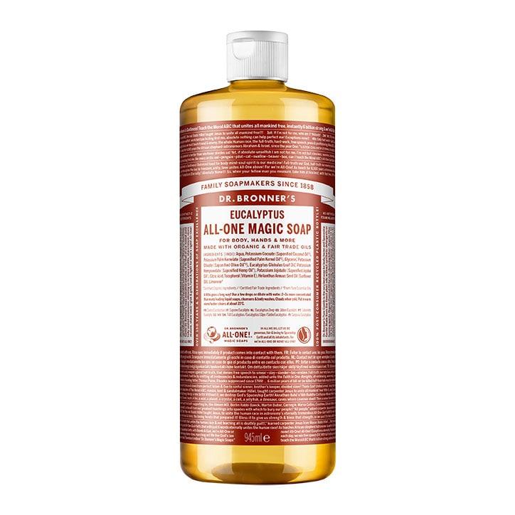 Dr Bronner's Eucalyptus Pure-Castile Liquid Soap 946ml