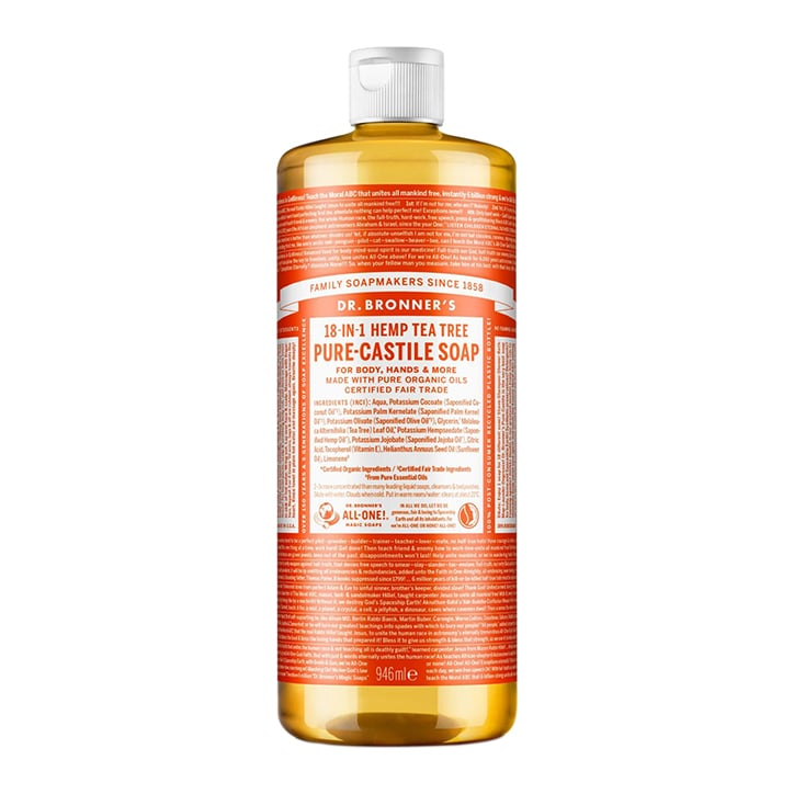 Dr Bronner's Tea Tree Pure-Castile Liquid Soap