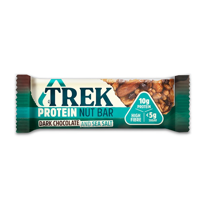 Trek Dark Chocolate & Sea Salt Protein Nut Bar