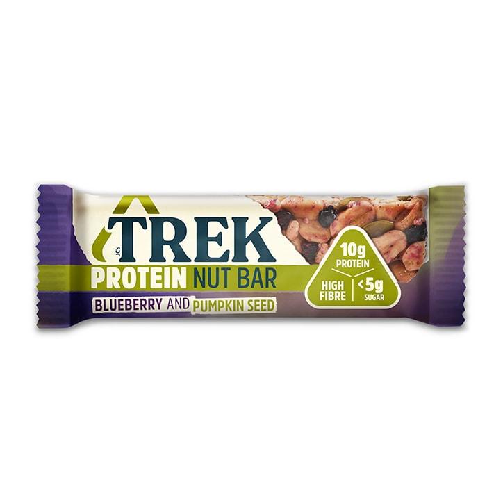 Trek Blueberry & Pumpkin Seed Protein Nut Bar 40g