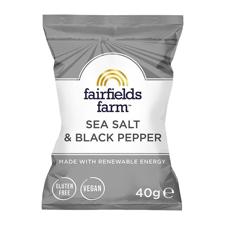 Fairfields Farm Sea Salt & Black Pepper Potato Crisps 40g