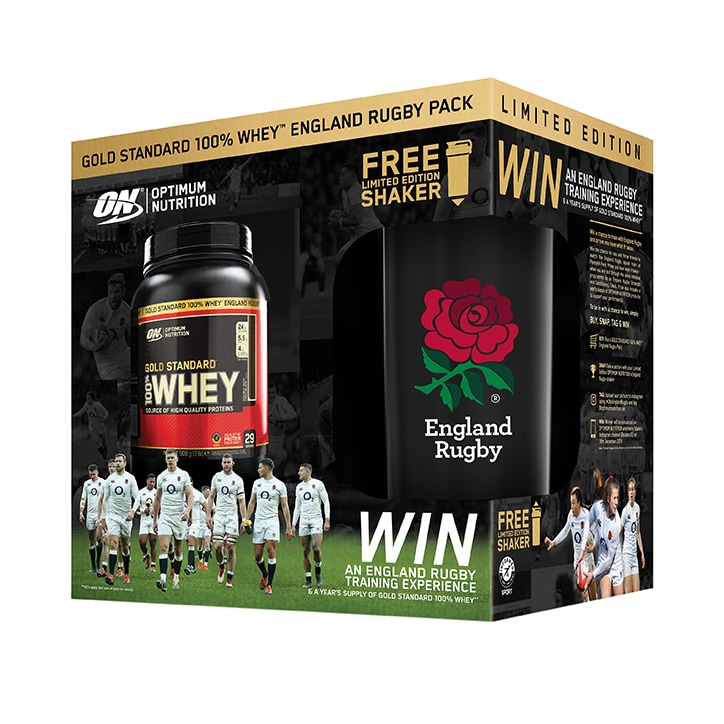 Optimum Nutrition Gold Standard 100% Whey Chocolate 908g & Free Shaker