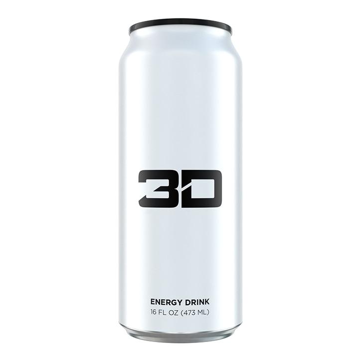 3D Energy White 473ml