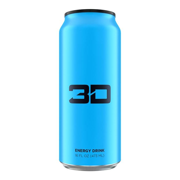 3D Energy Blue 473ml