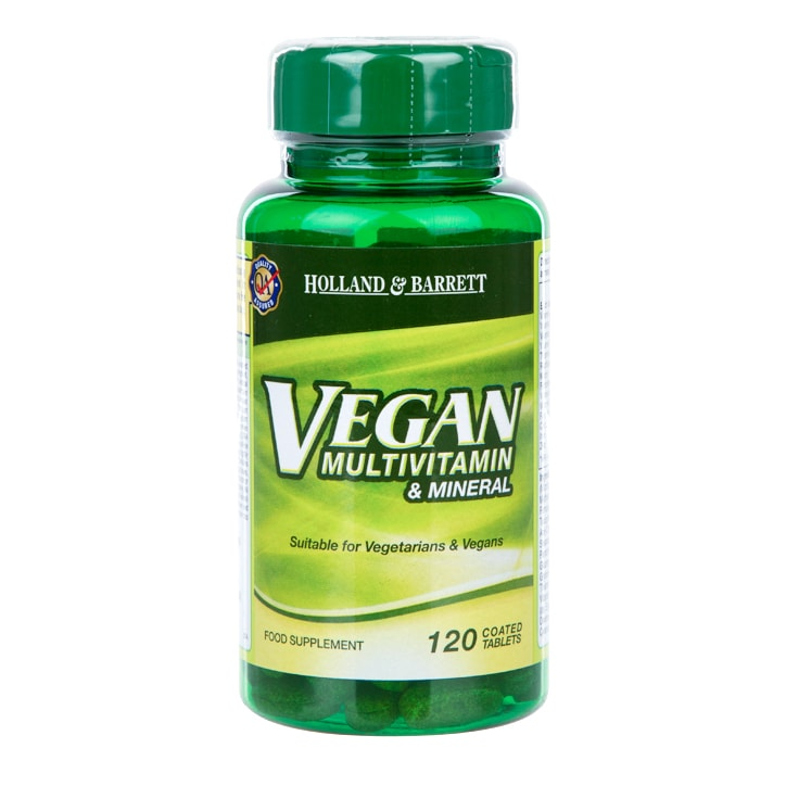Holland & Barrett Vegan Multivitamin & Mineral 120 Tablets