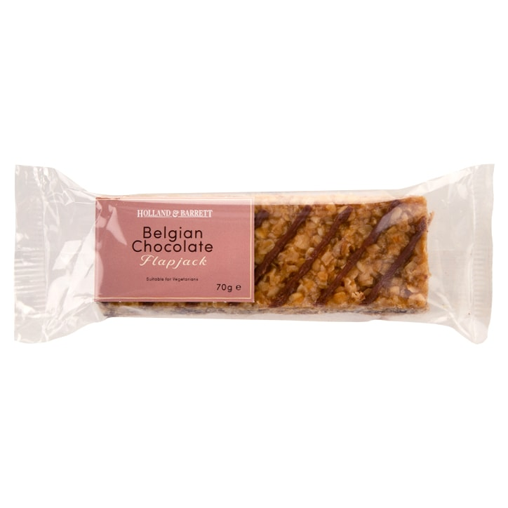 Holland & Barrett Belgian Chocolate Flapjack 70g