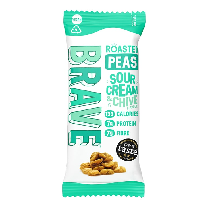 Brave Sour Cream & Chive Roasted Peas 35g