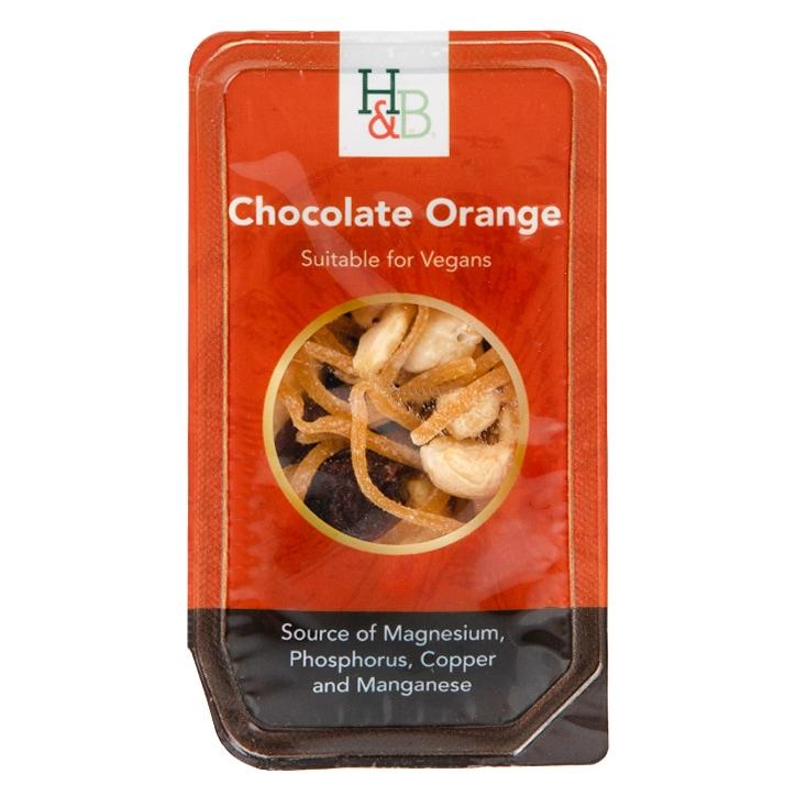 Holland & Barrett Chocolate Orange Snack Pack 60g