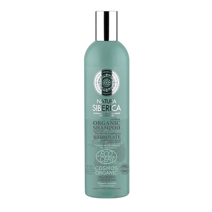 Natura Siberica Shampoo - Volume and Freshness for oily hair 400ml