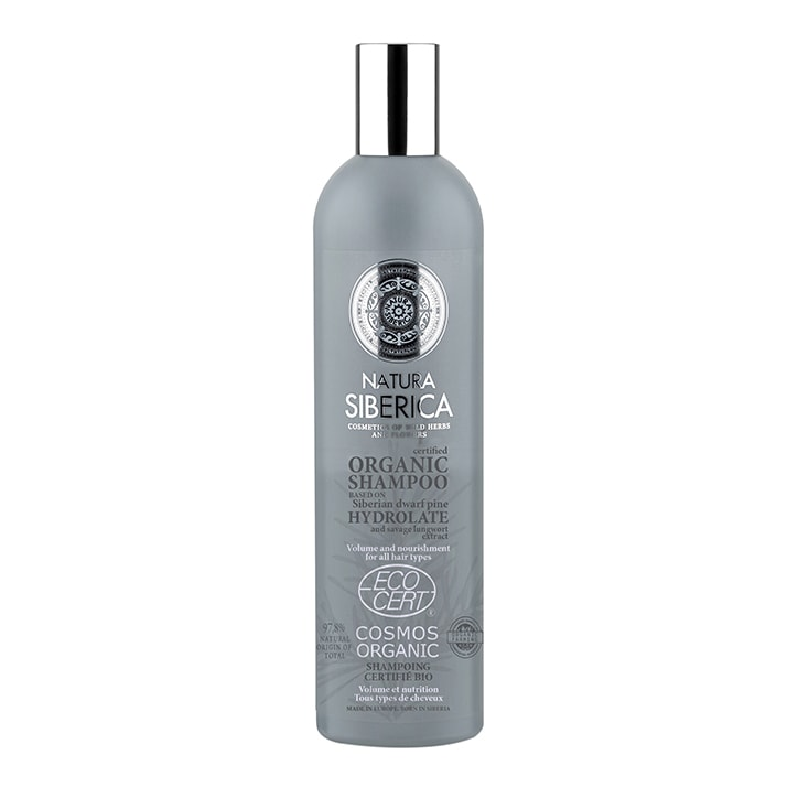Natura Siberica Shampoo - Volume and Nourishment for all hair types