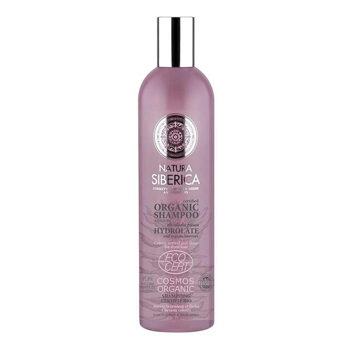 Natura Siberica Shampoo - Colour Revival and Shine for dyed hair 400ml