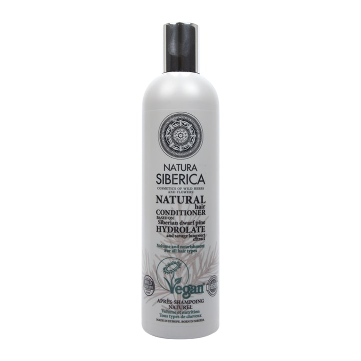 Natura Siberica Hair Conditioner - Volume and Nourishment for all hair types