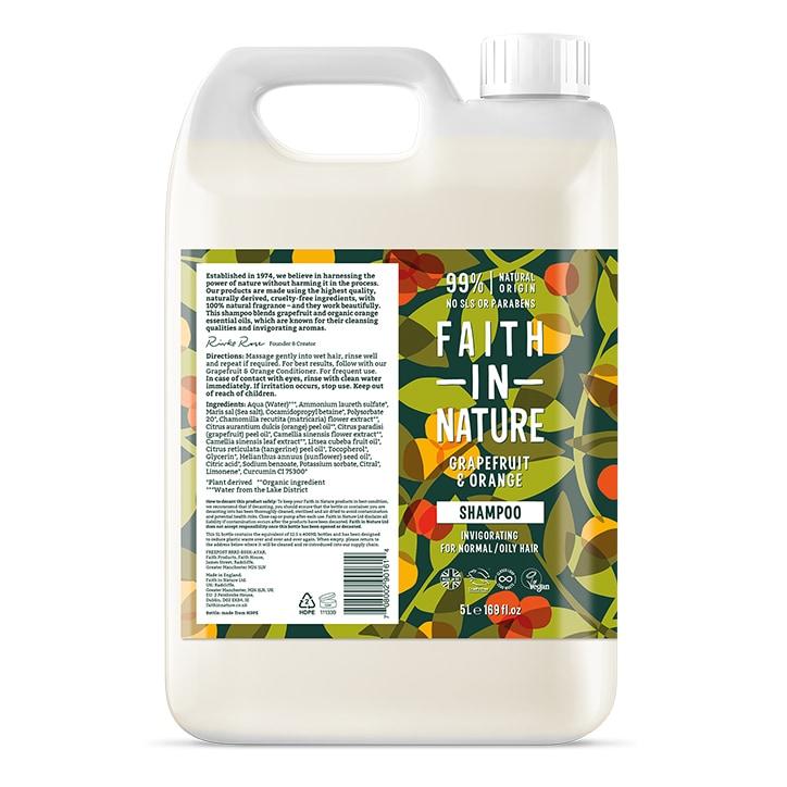 Faith In Nature Grapefruit & Orange Shampoo 5L