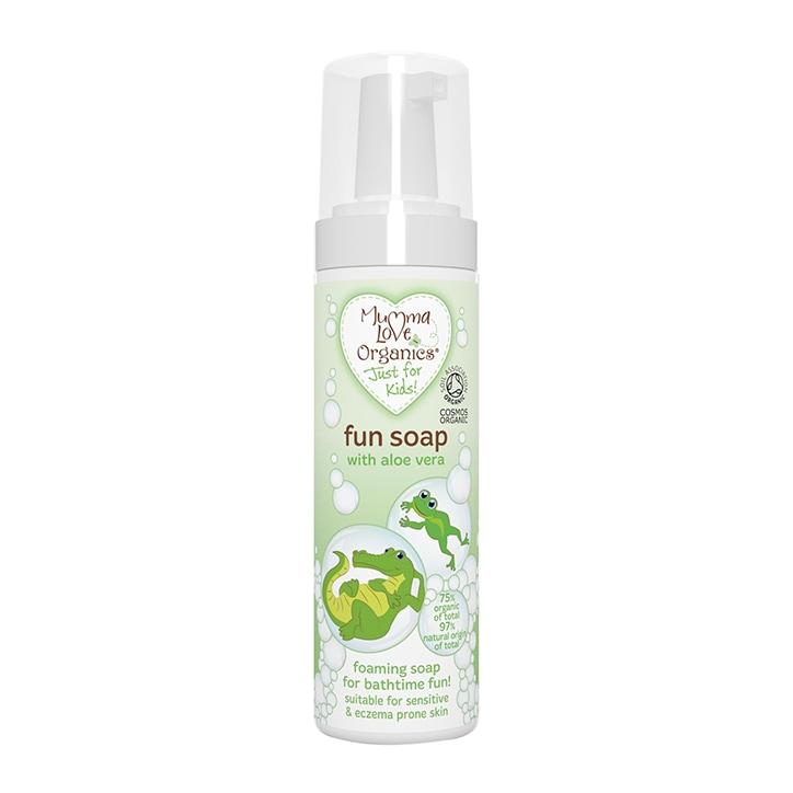 Mumma Love Organics Fun Soap with Aloe Vera 200ml