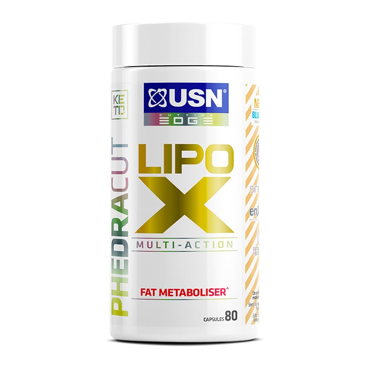 USN Lipo X Fat Metaboliser 80 Capsules