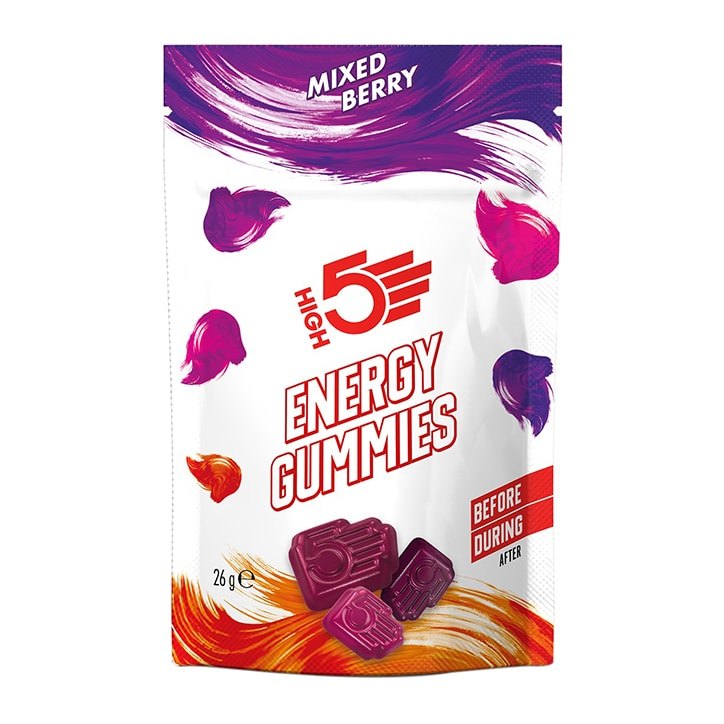 HIGH5 Energy Gummies Mixed Berries 26g