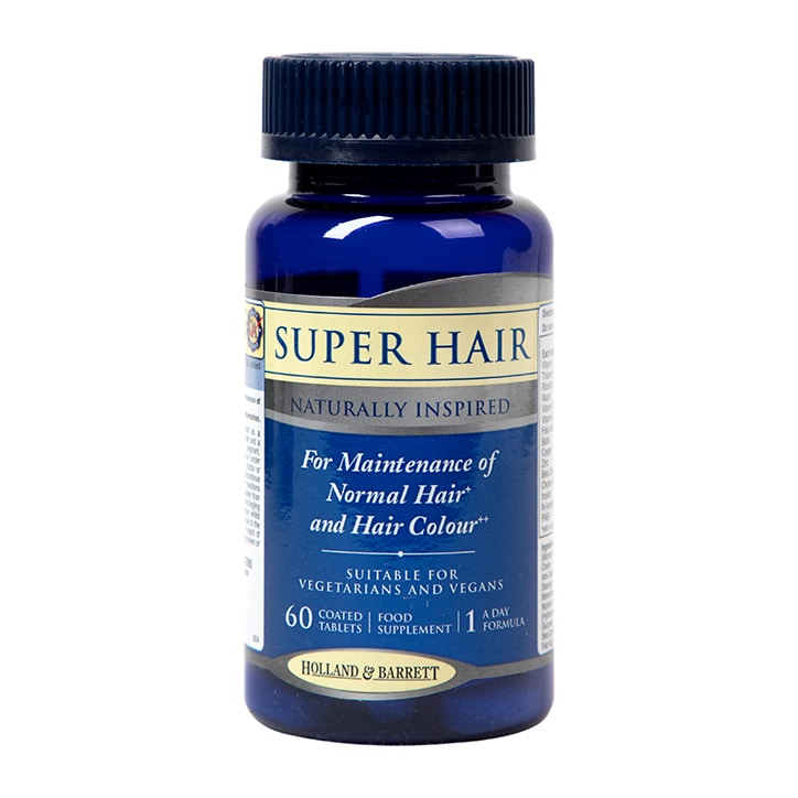 Holland & Barrett Super Hair 60 Tablets