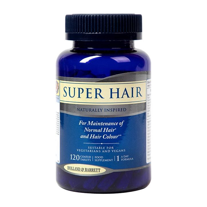 Holland & Barrett Super Hair 120 Tablets