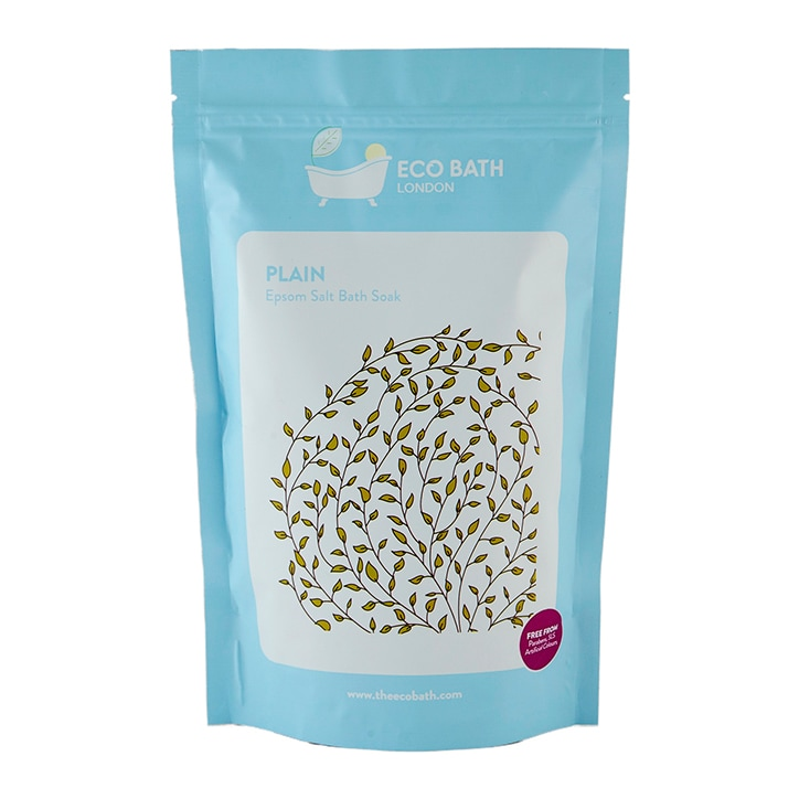 Eco Bath Plain Epsom Salt Bath Soak